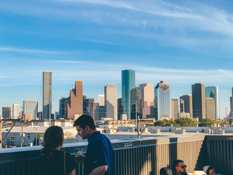 I Love Realty, Buffalo Bayou Brewery Skyline