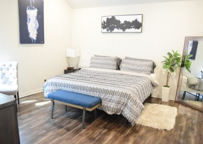 The Blue Bungalow | bed 2