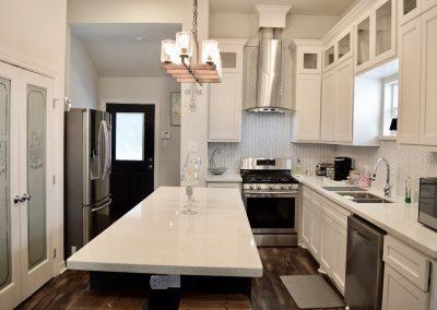 The Blue Bungalow | modern kitchen Houston